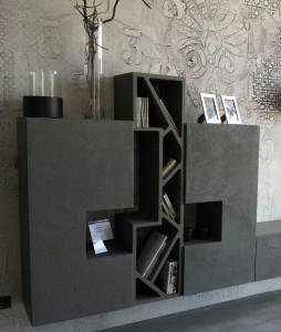 mobili in cemento