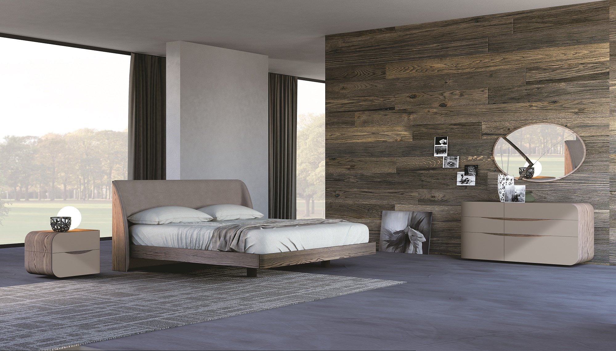 Comodini sospesi design gb27 pineglen - Camere da letto design ...