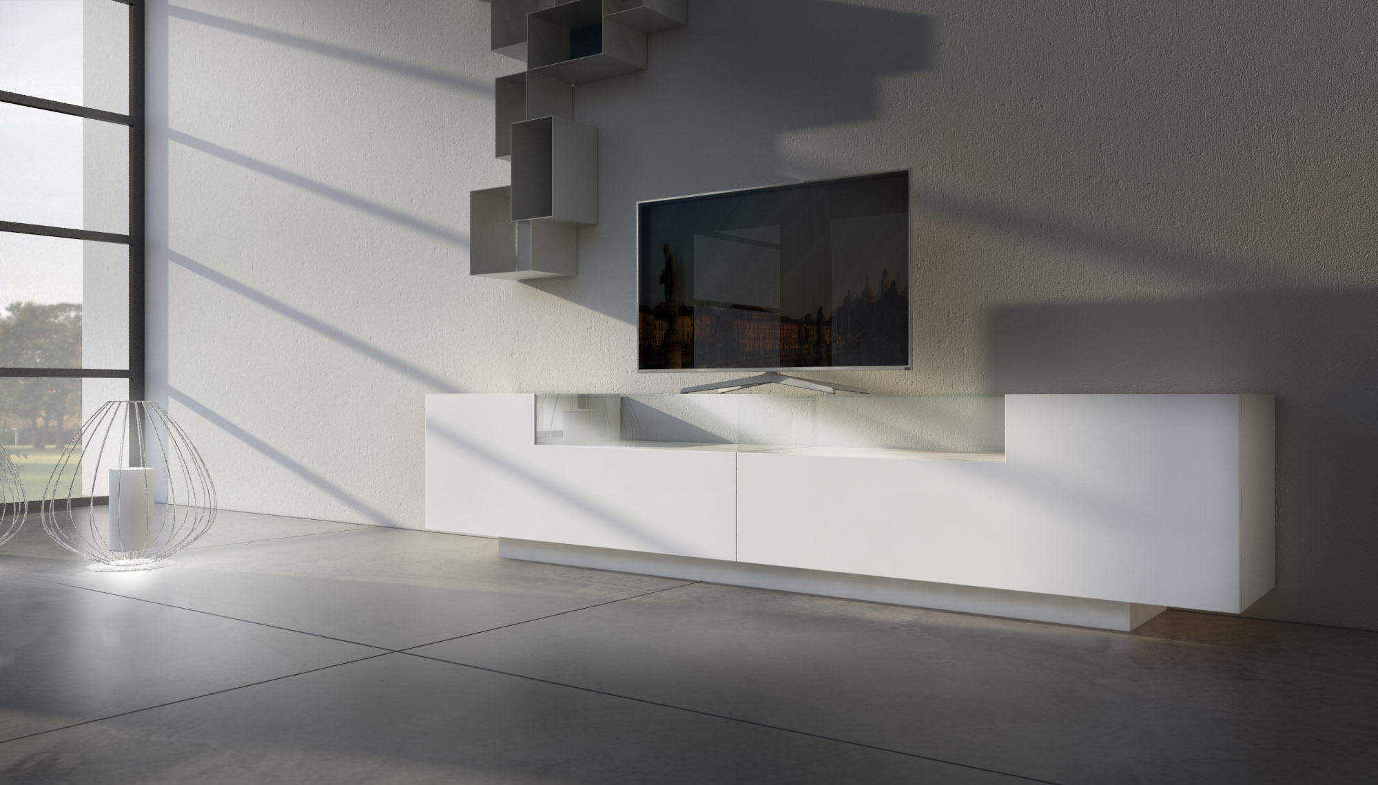 mobili porta tv moderni bassi | voltan mobili - Mobili Tv Bassi Moderni