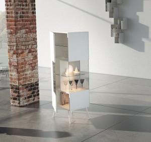 credenze vetrina moderne verticali