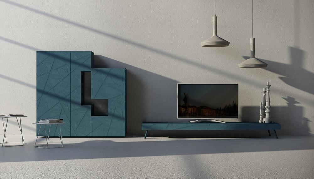mobile porta tv basso moderno di design