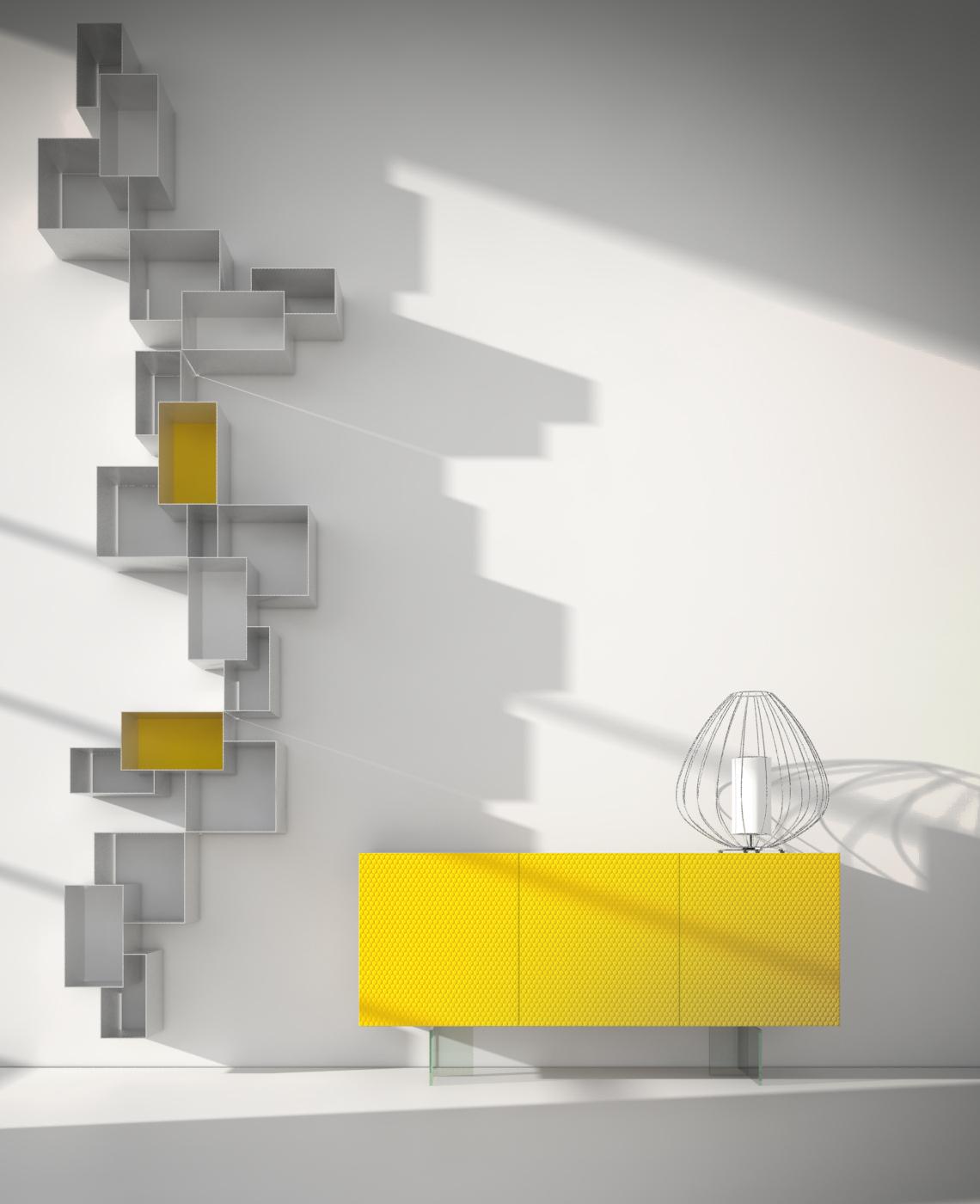 Credenze moderne colorate archivi mobili moderni for Blog di design