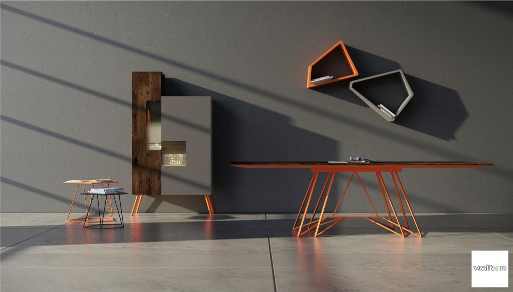 arredamento design particolare per soggiorno
