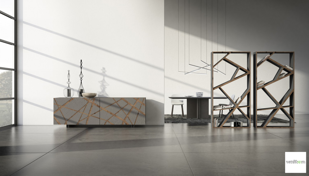mobili contenitori design soggiorno moderni