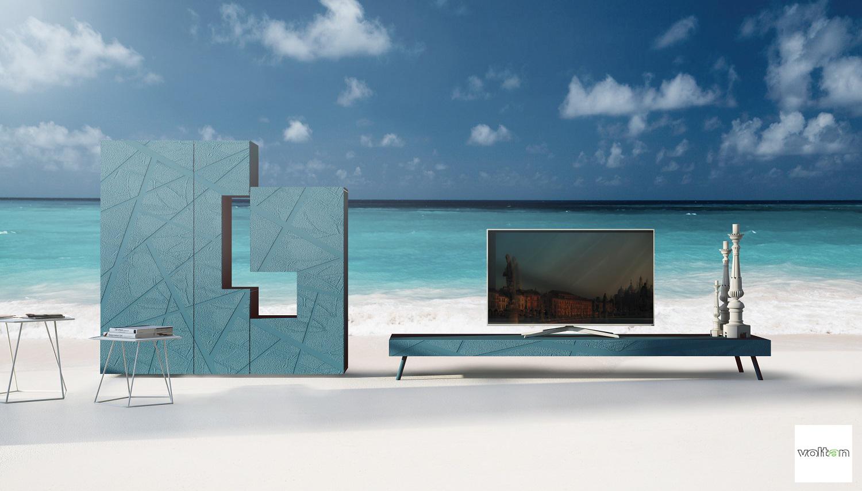 mobili soggiorni moderni particolari
