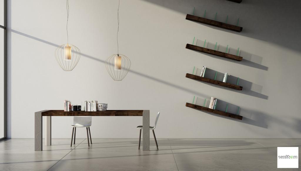 tavoli moderni design particolari