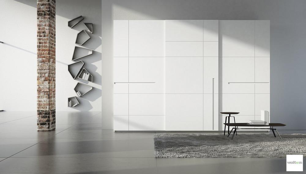 Camere da letto design moderno: comodini e armadi design moderno |
