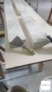 mobili fatti a mano cemento