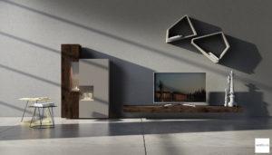 mobili per soggiorno moderno di design