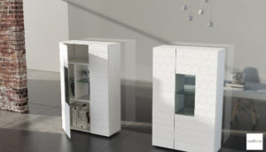 Credenza Moderna Con Vetrina : Credenza moderna con vetrina madie alte moderne