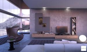 mobili cemento