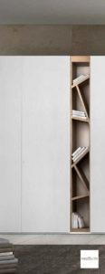 armadio con libreria