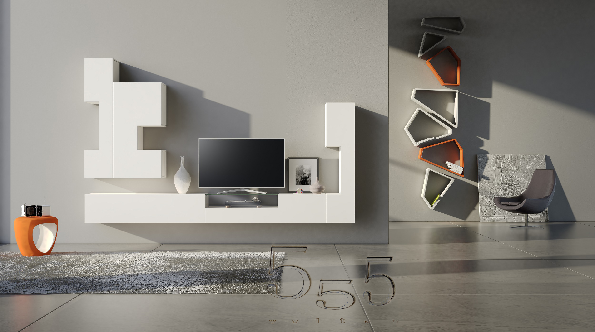 Awesome mobili porta tv moderni contemporary home design for Mobili moderni