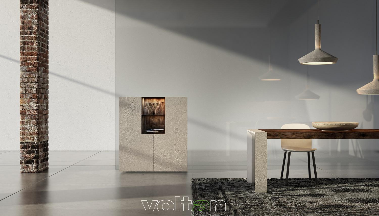Credenza Moderna Arancione : Credenze moderne per soggiorno