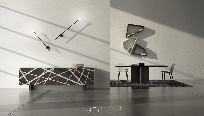 Credenze moderne per soggiorno for Madie di design