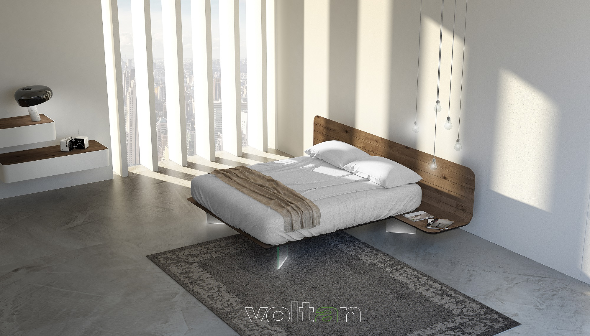 Camere Da Letto Ultramoderne camere da letto moderne bellissime: arredo essenziale zona notte