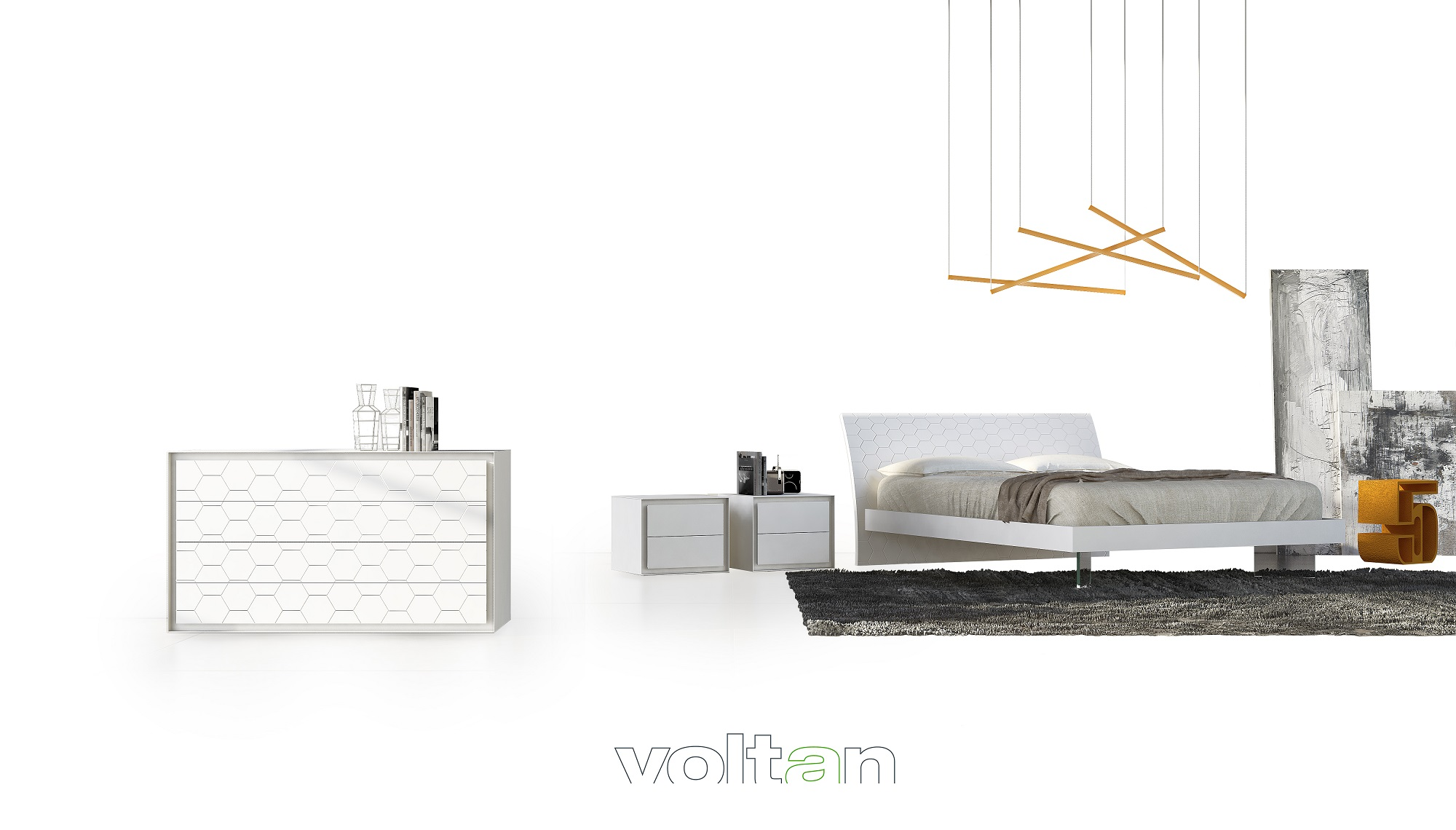 le più belle camere da letto moderne