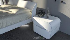 camera da letto essenziale