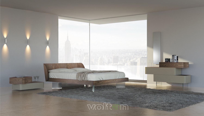 Nuovo Arredo Camere Matrimoniali.Arredamento Essenziale Camera Da Letto Mobili Minimal Zona Notte