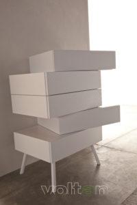 cassettiera settimino modulare componibile