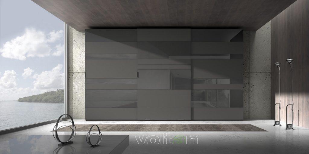 armadio moderno laccato opaco