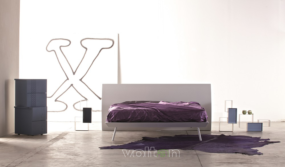camere da letto moderne blu