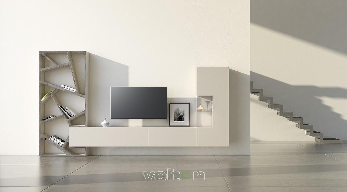pareti attrezzate componibili modulari