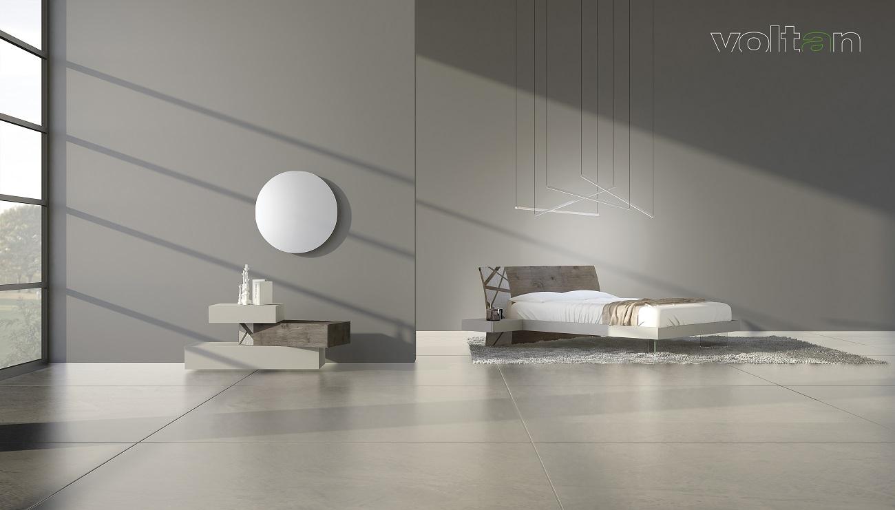 camera da letto design minimalista