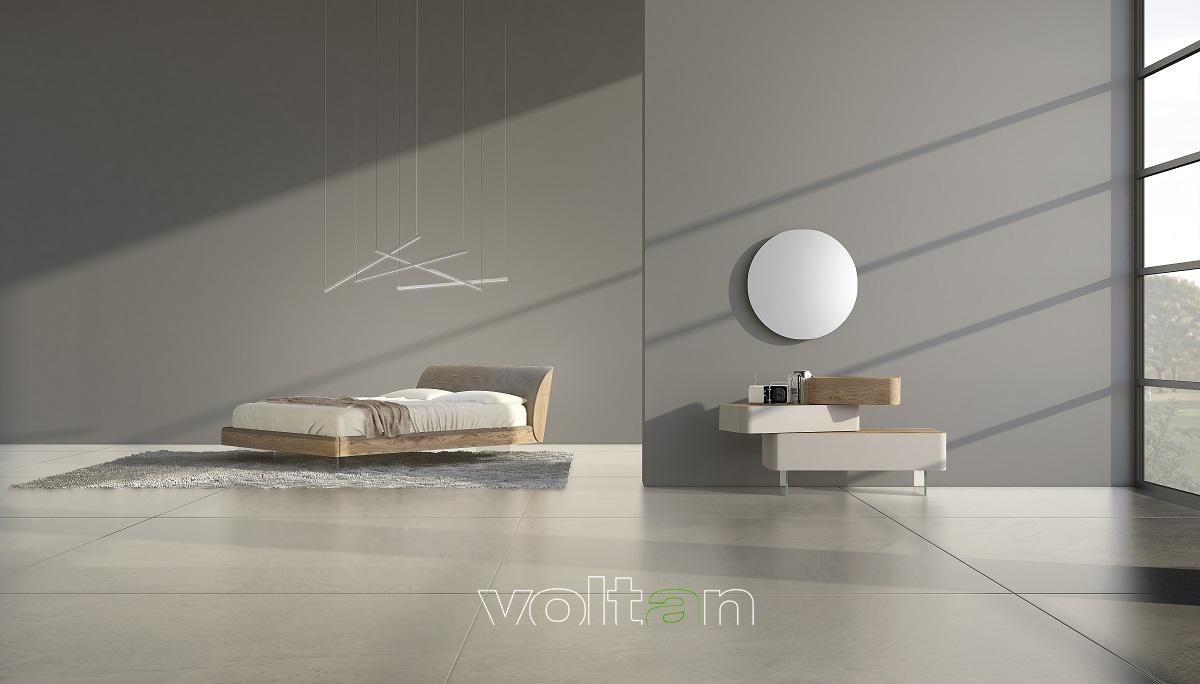 camera da letto elegante moderna
