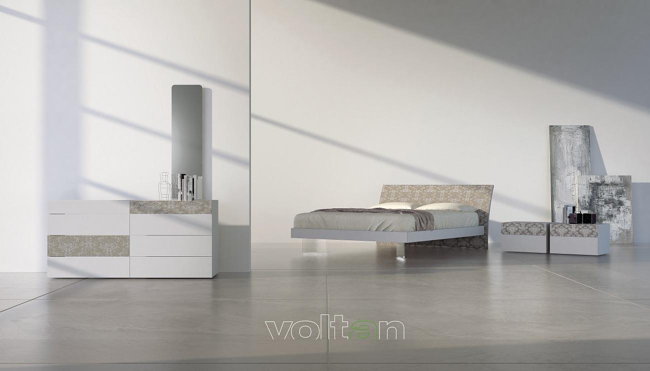camera da letto moderna elegante