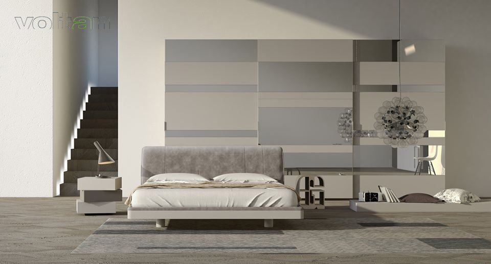 camera-letto-moderna-grigia
