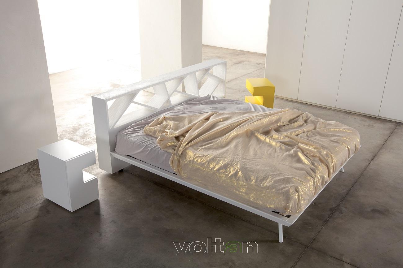 camere da letto design bianche