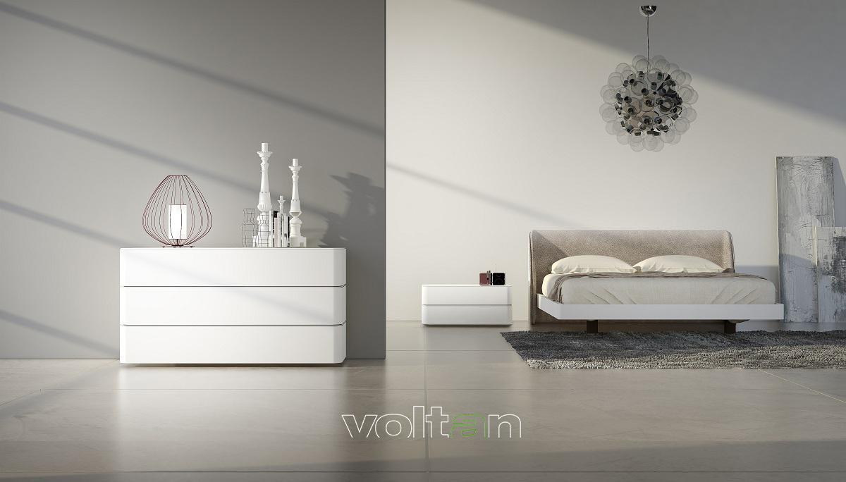 camere da letto eleganti bianche