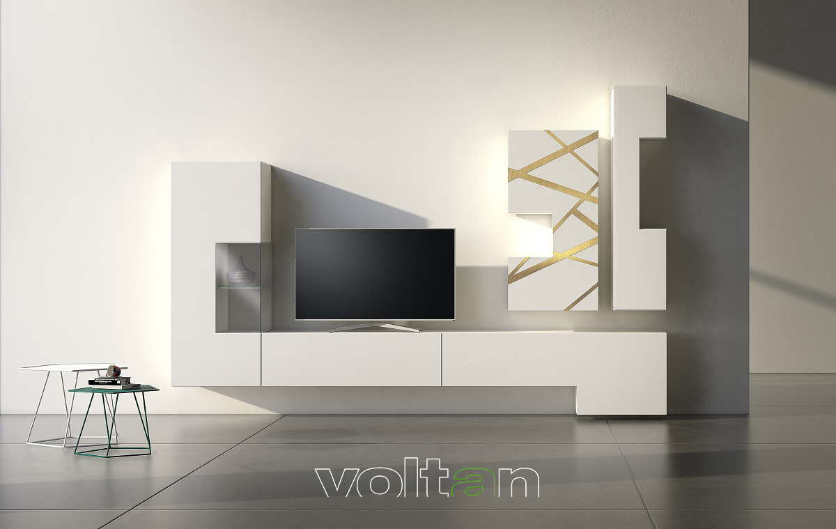 Parete Mobili Porta Tv Design.Pareti Attrezzate Per Soggiorno E Mobili Tv Moderni