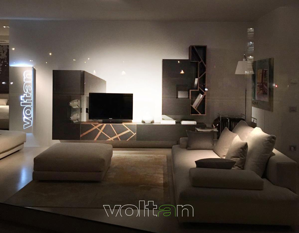 pareti attrezzate con tv