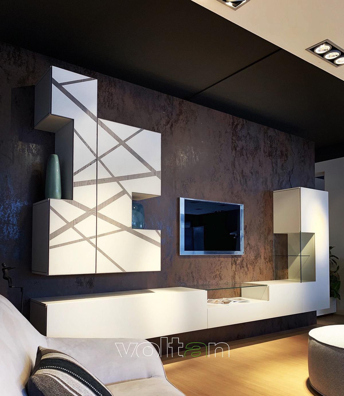 Mobile TV legno moderno