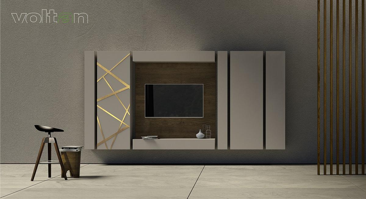 Mobile porta tv moderno sospeso