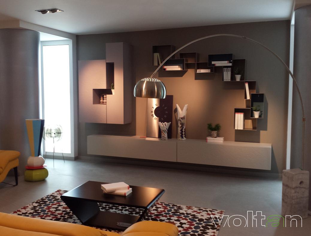 Moderno E Antico Arredamento arredamento moderno soggiorno: pareti attrezzate, credenze e