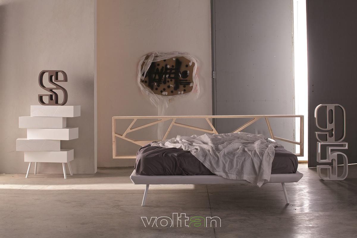 camera da letto moderna minimal