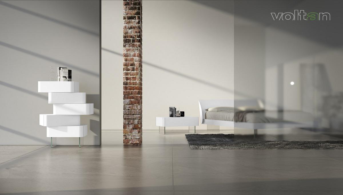 camera da letto stile minimalista