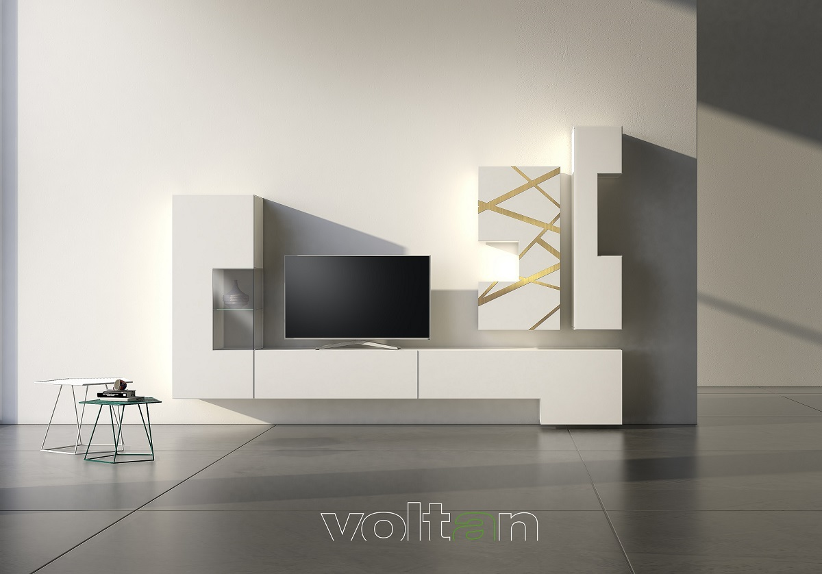mobile tv legno design