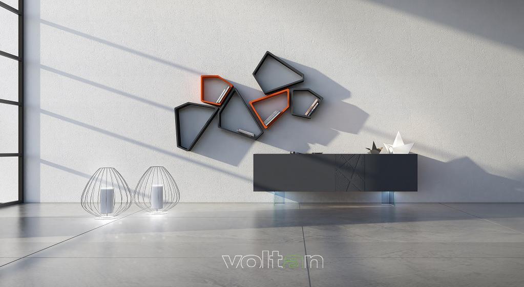 scaffali design moderno