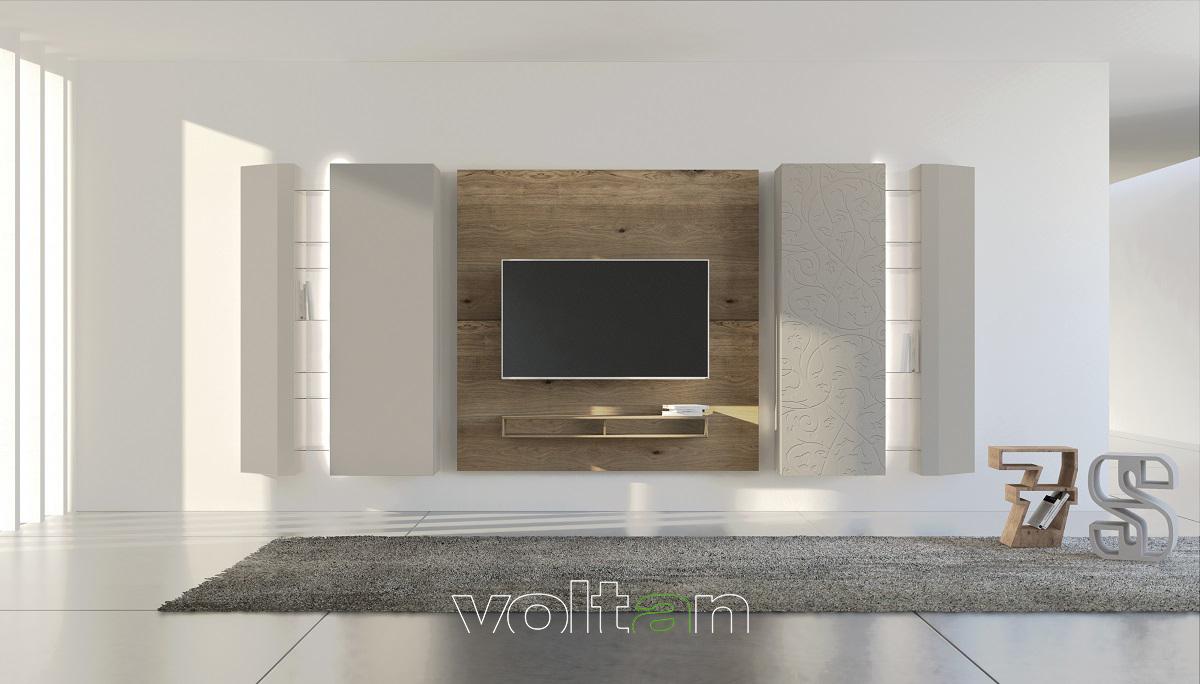 Mobili soggiorno moderni di lusso: pareti attrezzate lussuose