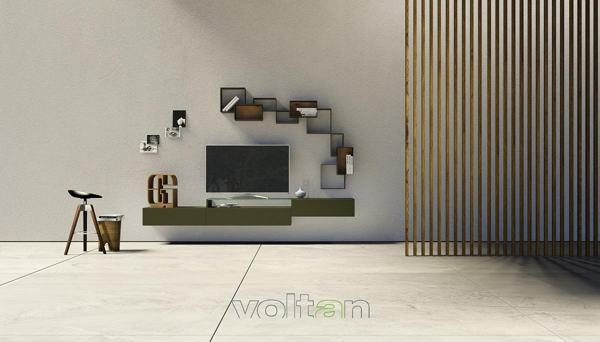 parete attrezzata soggiorno sospesa