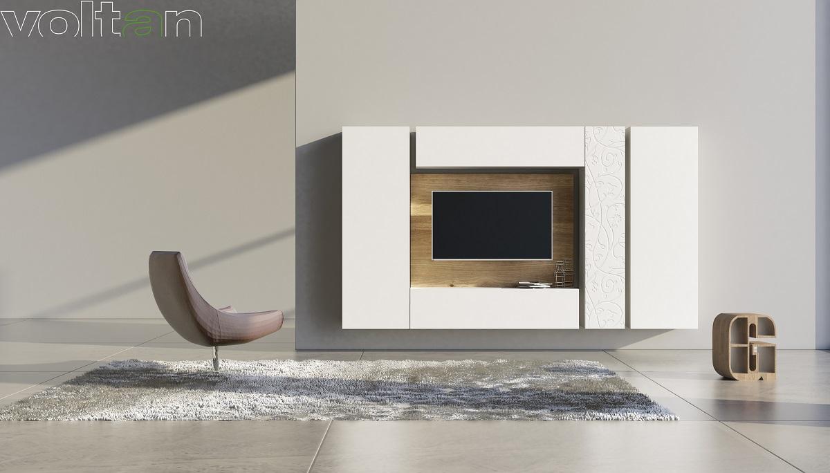 parete attrezzata tv design