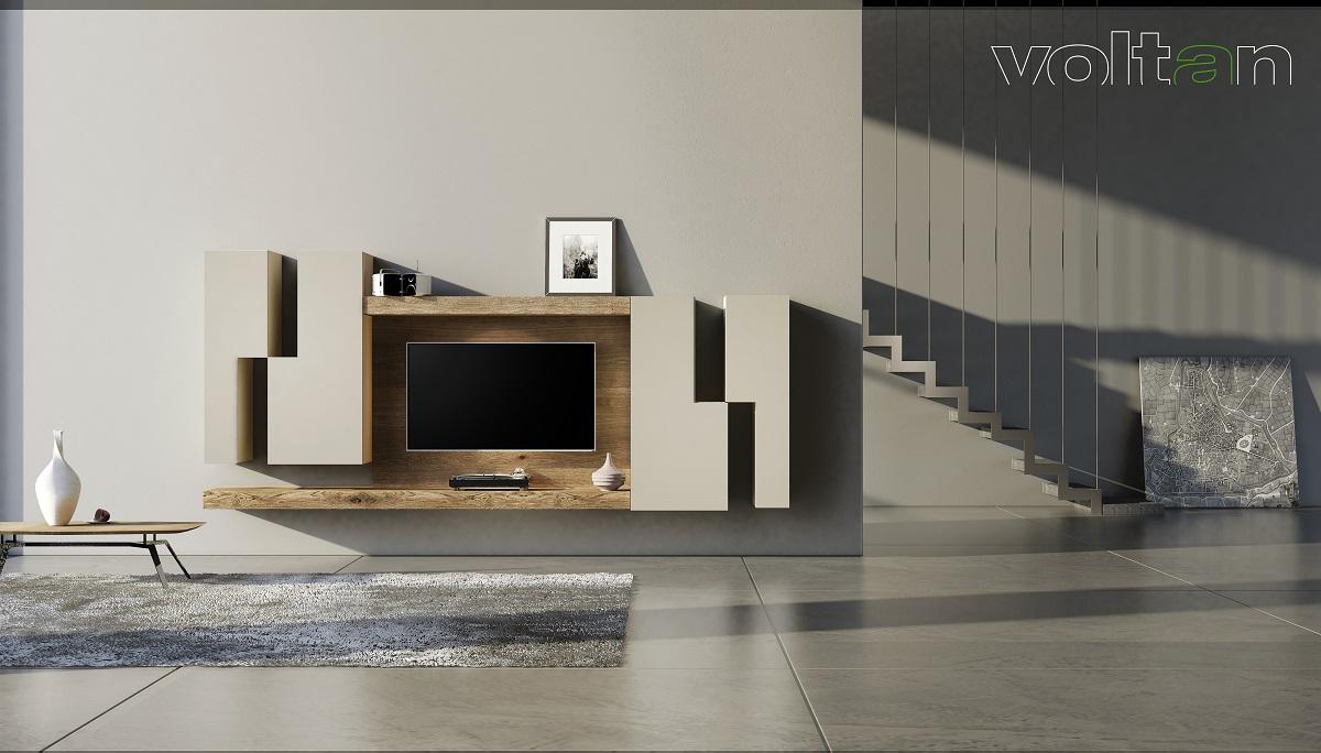parete attrezzata moderna minimal