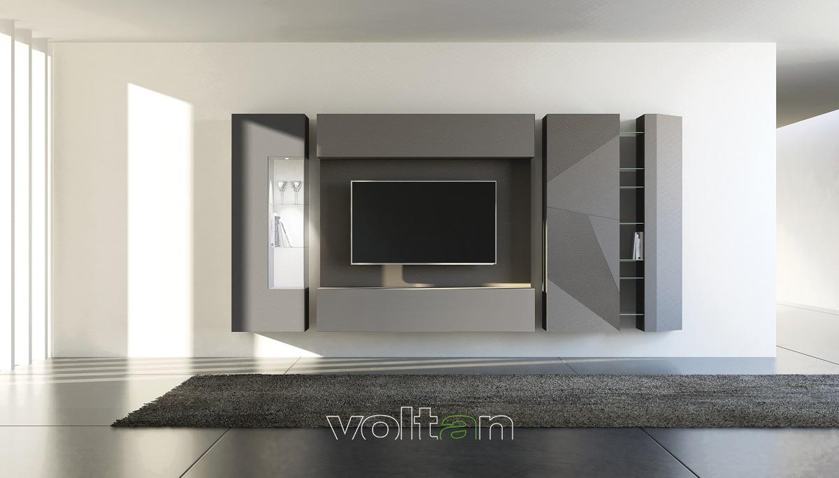 pareti attrezzate per soggiorni moderni