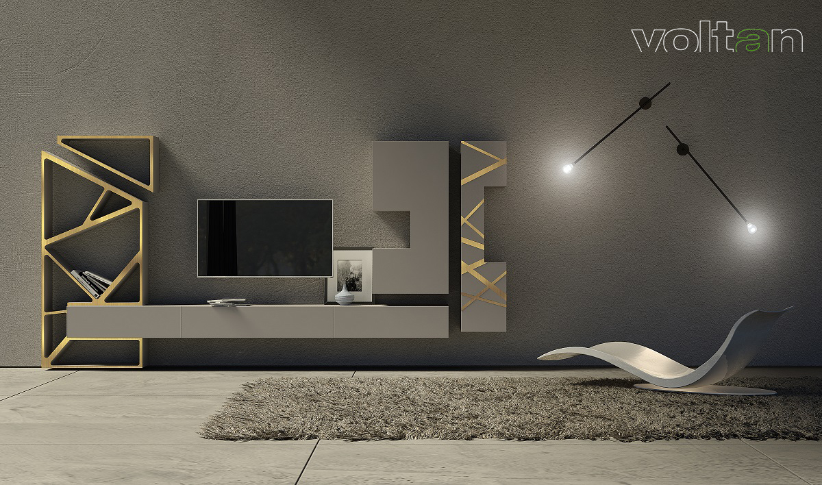 mobile moderno porta tv